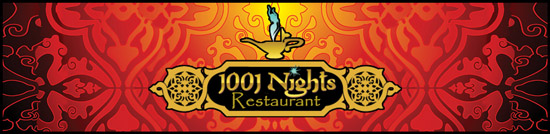 1,001 Night Restaurant Banner