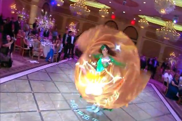 LaUra Bellydance Wedding Entrance - New York